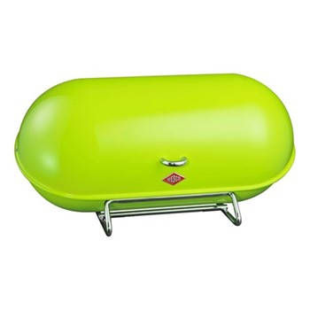 Breadboy Bread bin, H21 x W44 x D23cm, lime green