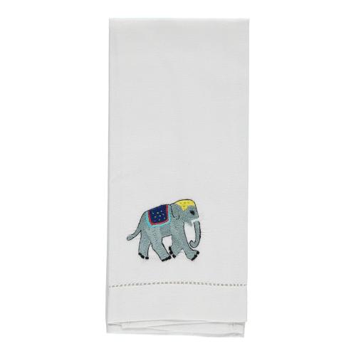 Elephant Hand towel, 38 x 58cm, Cotton