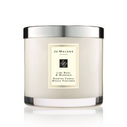 Lime Basil & Mandarin Deluxe candle, 600g