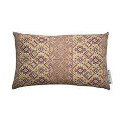 Nahuala Cushion, 42 x 70cm, yellow multi