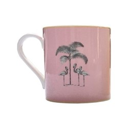 Harlequin - Pink Flamingo Mug, pink