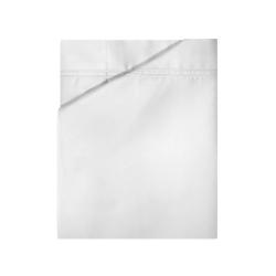 Triomphe - 300 Thread Count Cotton Sateen King flat sheet, 270 x 310cm, blanc