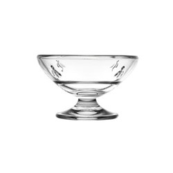 Bee Set of 6 sundae dishes, D6.6cm, clear