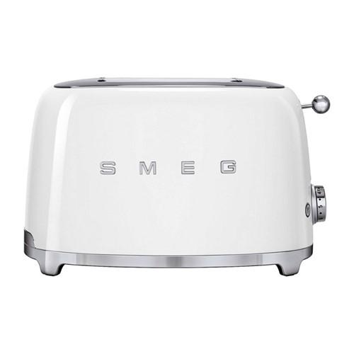 50's Retro 2 slice toaster, white