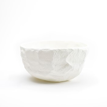 Crockery White Large deep bowl, D18 x H10cm, white
