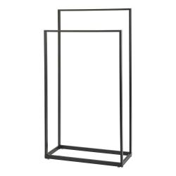 Yuri Towel holder, 45 x 20 x 83cm, Black