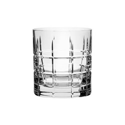 Street Set of 4 old fashioned glasses, H8.6 x W7.8cm, glass