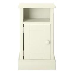 Charterhouse Bedside cabinet, H72 x W42 x D35cm, antique white