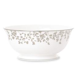 Gardner Street Platinum Serving bowl, 22.5cm