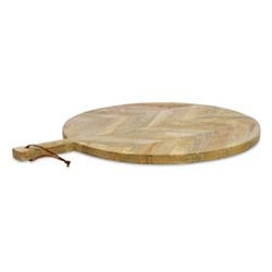 Nalbari Large pizza board, 2 x 59 x 46cm, mango wood