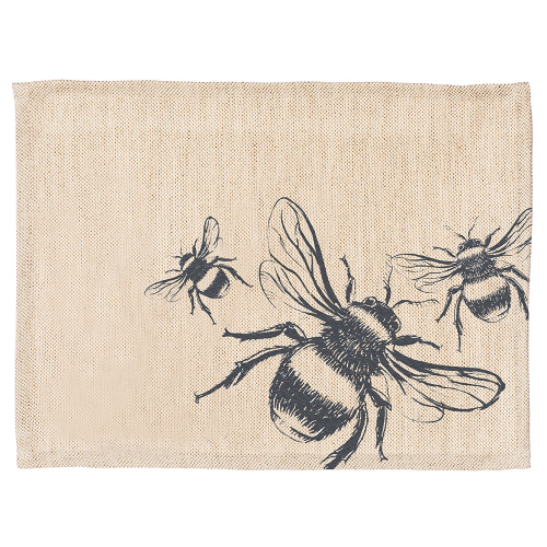 Bee Set of 2 placemats, 40 x 30cm