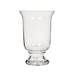 Large hurricane vase H40 x D26.5cm