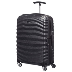 Lite-Shock Spinner suitcase, 55cm, black