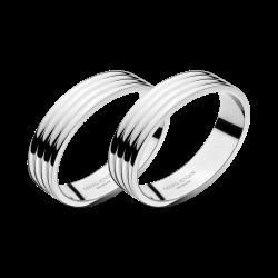 Bernadotte Pair of napkin rings, D4cm, Stainless Steel