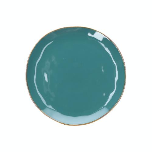 Concerto Set of 4 dinner plates, Dia27cm, teal blue