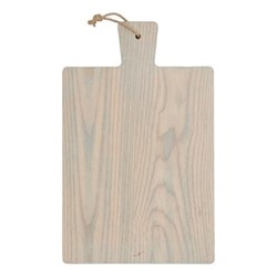 Borough Rectangular chopping board, W30 x D48 x H2cm, seasoned