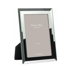 "Bevelled Mirror Photograph frame, 4 x 6"", Glass"
