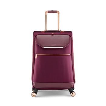 Albany Medium 4 wheel trolley suitcase, L68 x  W44 x  D31cm, burgundy
