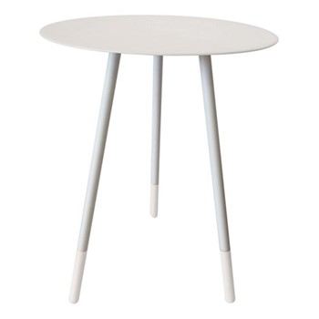 Small round table, H49cm x Dia36cm, dove grey