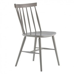 Talia Dining chair, W48 x H83.5 x D51.5cm, warm grey