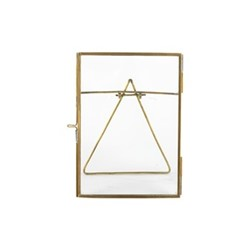 "Danta Photograph frame, 8 x 10"", antique brass"