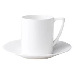 White Espresso saucer