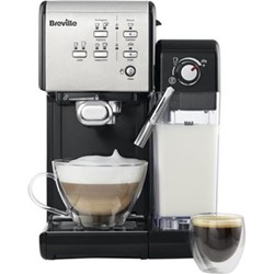 One Touch - VCF107 Coffee machine, 1.4 litres, black & chrome