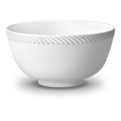 Corde Cereal bowl, 14cm, White