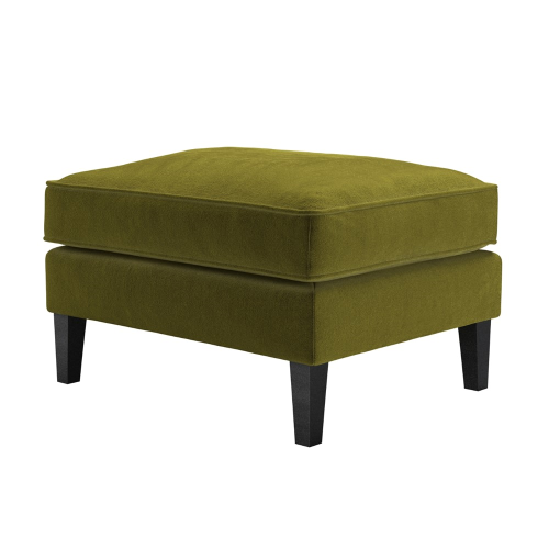 Iggy Medium rectangular footstool, H47 x W74 x D58cm, Olive