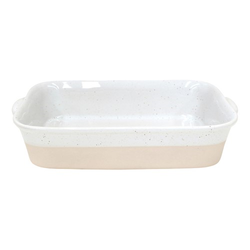 Fattoria Medium rectangular baker, L35 x W24 x H7cm, White