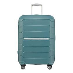 Flux Spinner expandable suitcase, 68 x 47 x 30/34cm, arctic blue