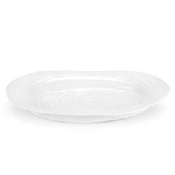 Ceramics Oval plate, 37 x 30cm, White
