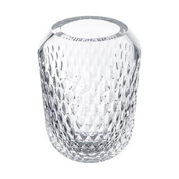 Folia Large vase, clear crystal