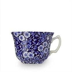 Calico Teacup, 18.7cl - 1/3 pt, blue