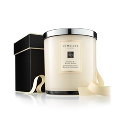 Peony Blush Suede Luxury candle, 2.5kg