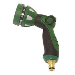 Spray gun, H22 x W16cm, green