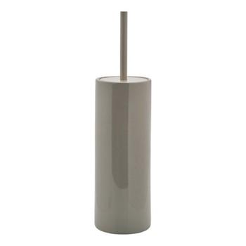 Forte Toilet brush holder, 10 x 38.5cm, sage green