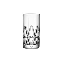 Peak Set of 4 highball glasses, H15cm, clear