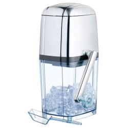 Rotary action ice crusher, acrylic