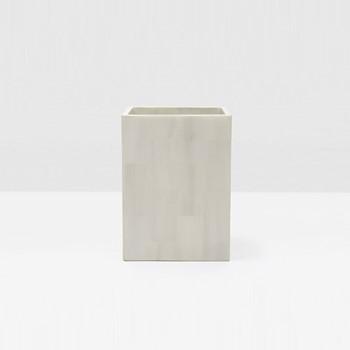Arles Wastebasket, H28 x W21cm, dark faux horn