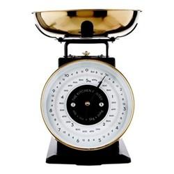 Mechanical scale, L20.5 x W21 x H26cm, iron