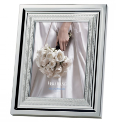 """Vera Wang - With Love Photograph frame, 8 x 10"""", Silver Plate"""