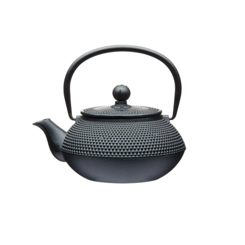 Le'Xpress Cast iron infuser teapot, 600ml, Black