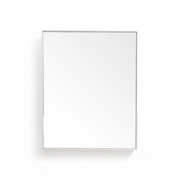 Slimline Cabinet, H55 x W45 x D12cm, oyster white