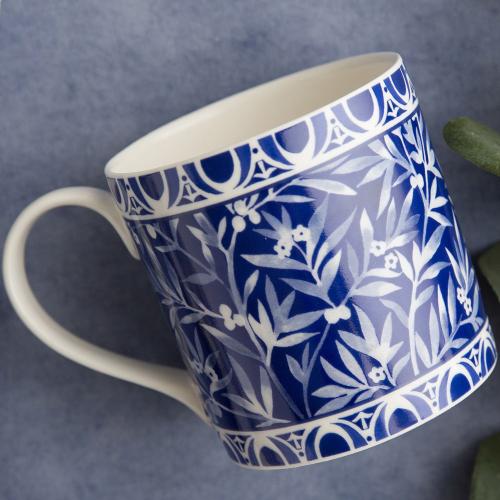 Henry Cole Mug, H9 x W9 x L13cm, Blue