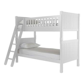 Charterhouse Bunk bed, H168 x L203 x W100cm, silk white