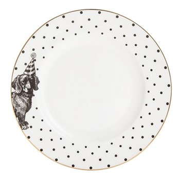 Party Pup Set of 6 side plates, 16cm
