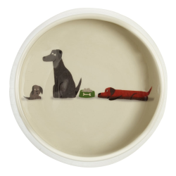 Labrador Dog Bowl, D18cm, Multi