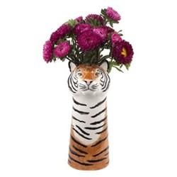 Tiger Large flower vase, L12 x D14 x H29cm