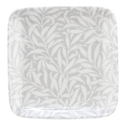 Pure Morris - Willow Bough Trinket tray, 12.7cm, grey/white